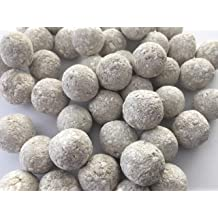 Edible Balls with YELLOW clay and Chalk natural for eating 1 lb // 450g YELLOW Edible Chalk Balls us